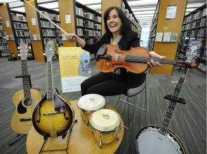 Borrowing a tune: Vancouver Library launches musical instrument lending program