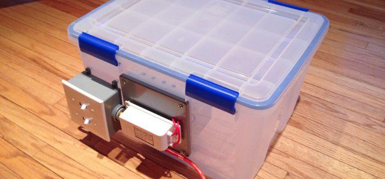 Ozone chamber to deodorize books