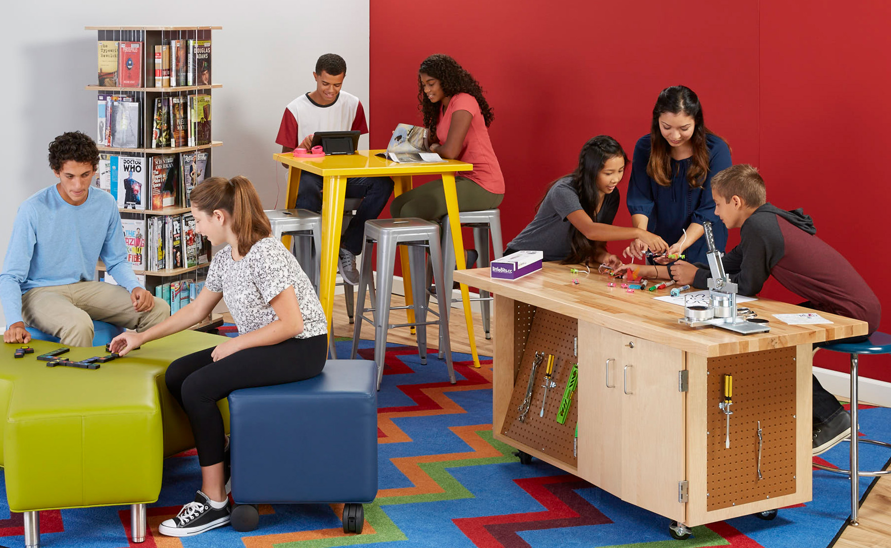 Library Makerspaces - DEMCO INC - Liz Bowie