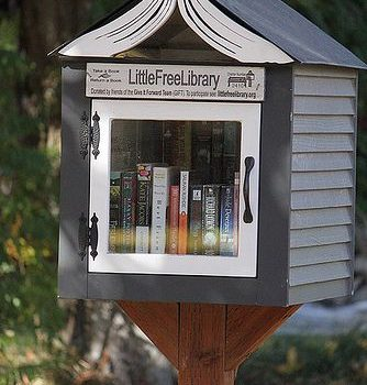 Little Free Libraries (Pequenas bibliotecas gratuitas)