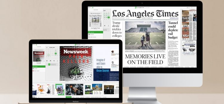 Major Newspapers and Magazines, One Single Subscription (Principais Jornais e Revistas em uma Única Assinatura)